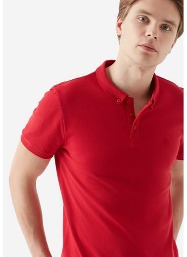 Mavi Erkek  Polo Tişört 063247-30648 Kırmızı